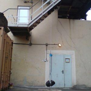 Испытание пожарных лестниц динамической нагрузкой