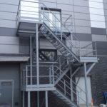 Наружная эвакуационная лестница