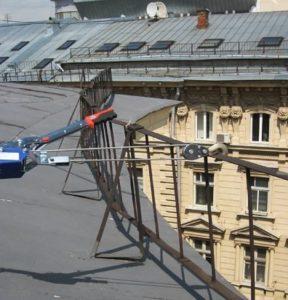 Проверка ограждений крыши на прочность