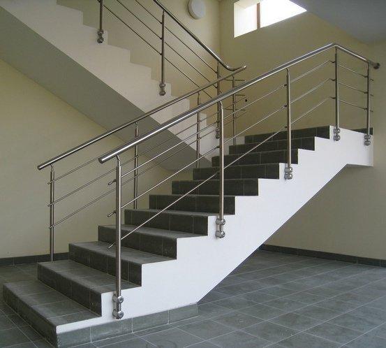 Лестница из алюминия