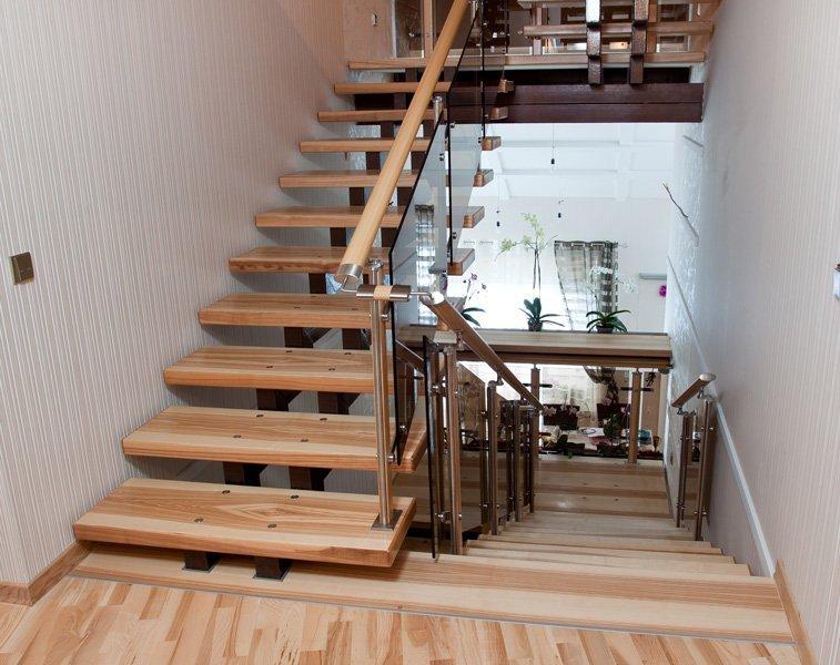 Лестница бетонная на второй этаж своими руками