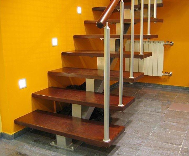 Лестницы гусиный шаг на второй этаж своими