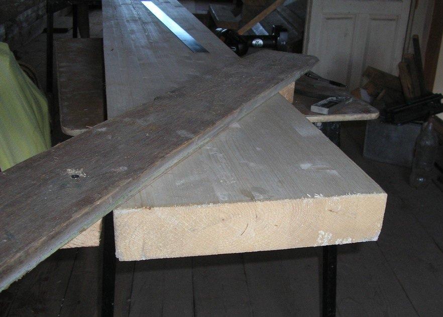 Как собрать деревянную лестницу фото