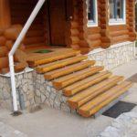 Как сделать деревянные ступеньки