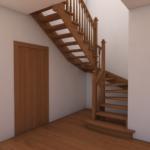 Косоур лестницы фото