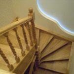Квадратно-винтовая лестница