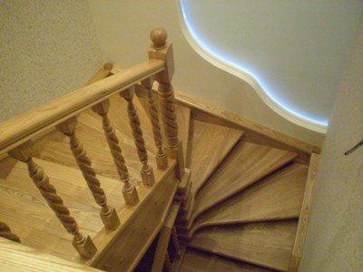 Лестница даче своими руками видео фото 600