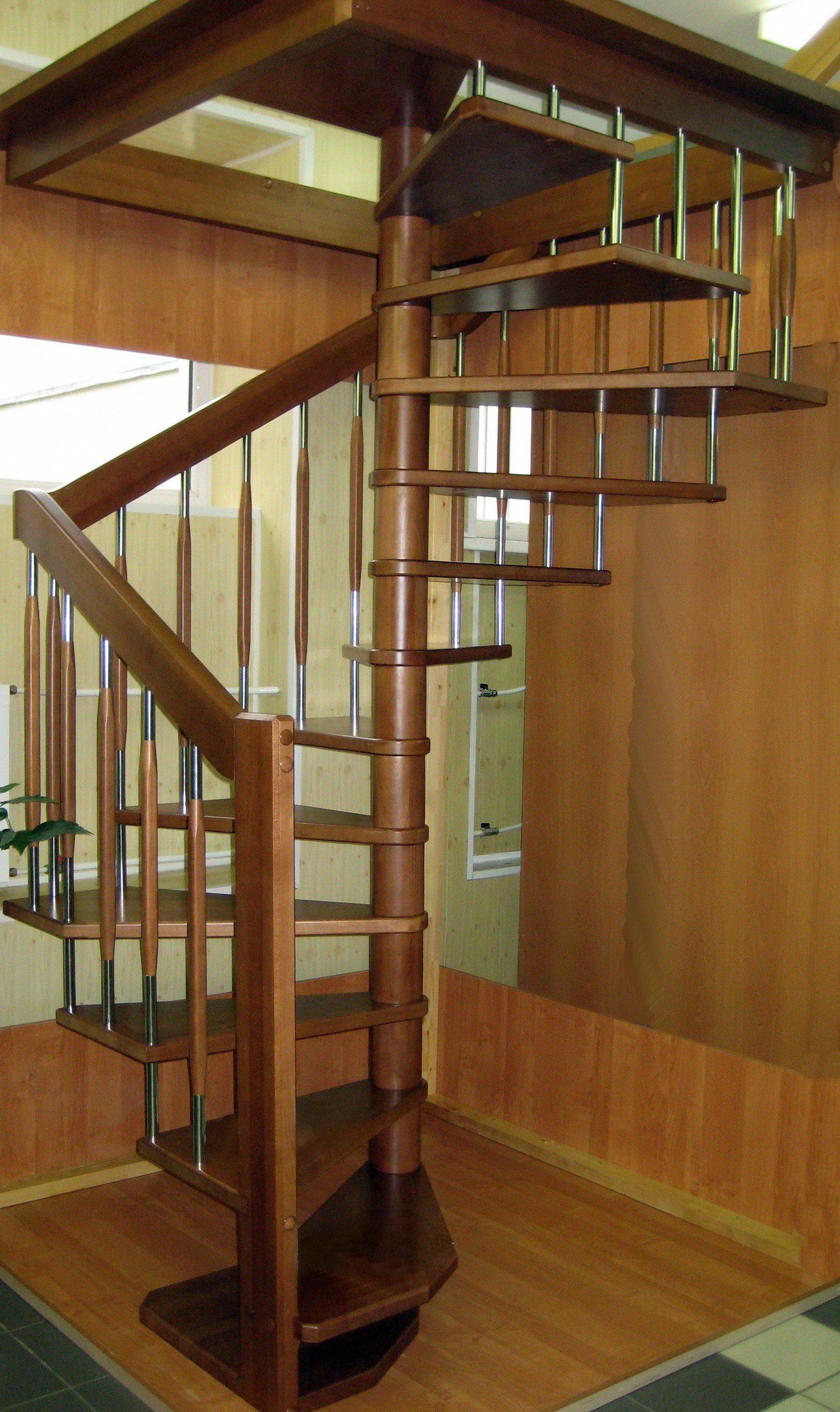 Деревянные лестницы на второй этаж своими руками