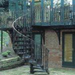 Кованые наружные лестницы