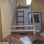Крепление деревянных ступеней на тетиву фото