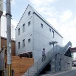 Наружная лестница из бетона