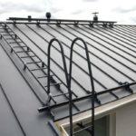 Наружная лестница на крышу