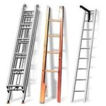 Переносная наружная лестница