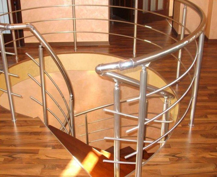 Перила из анодированного алюминия