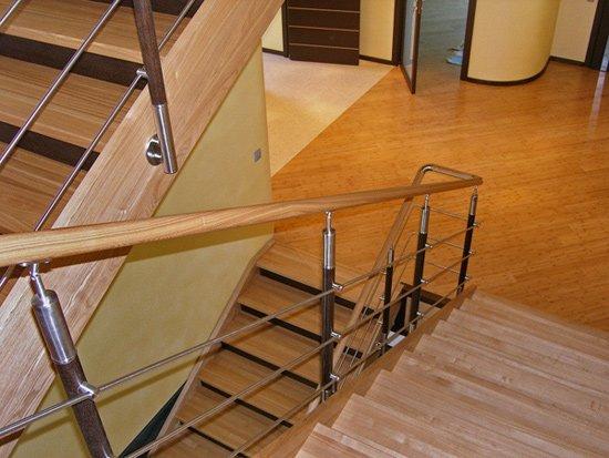 Купить пристенный кронштейн для крепления деревянной лестницы