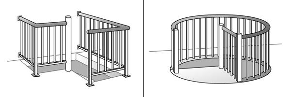 винтовой лестницы — схемы
