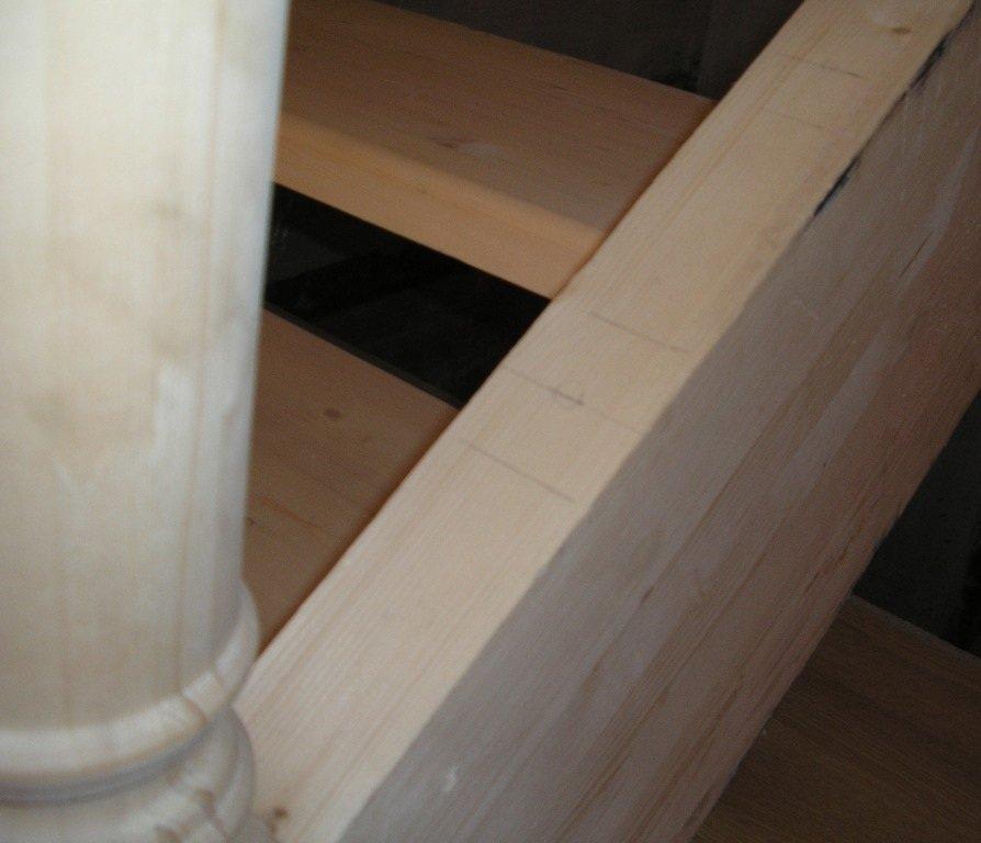 Сборка деревянной лестницы своими руками