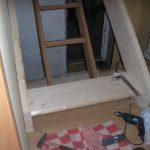 Установка деревянных лестниц фото