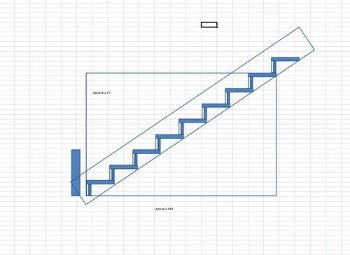 Чертежи деревянных лестниц фото