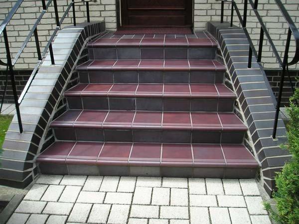 Керамическые ступени для улицы фото
