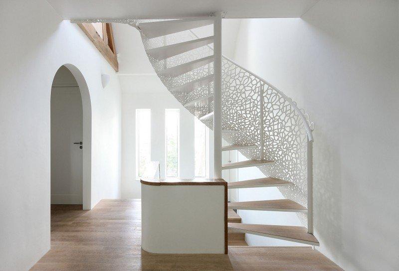 Красивые винтовые лестницы