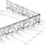 Металлические перила для лестниц своими руками - лестничные ограждения