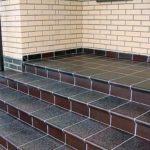 Клинкерная плитка для ступеней лестницы фото