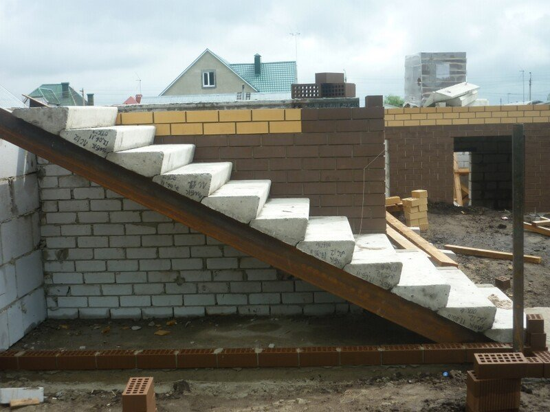 Лестница на две ступени своими руками