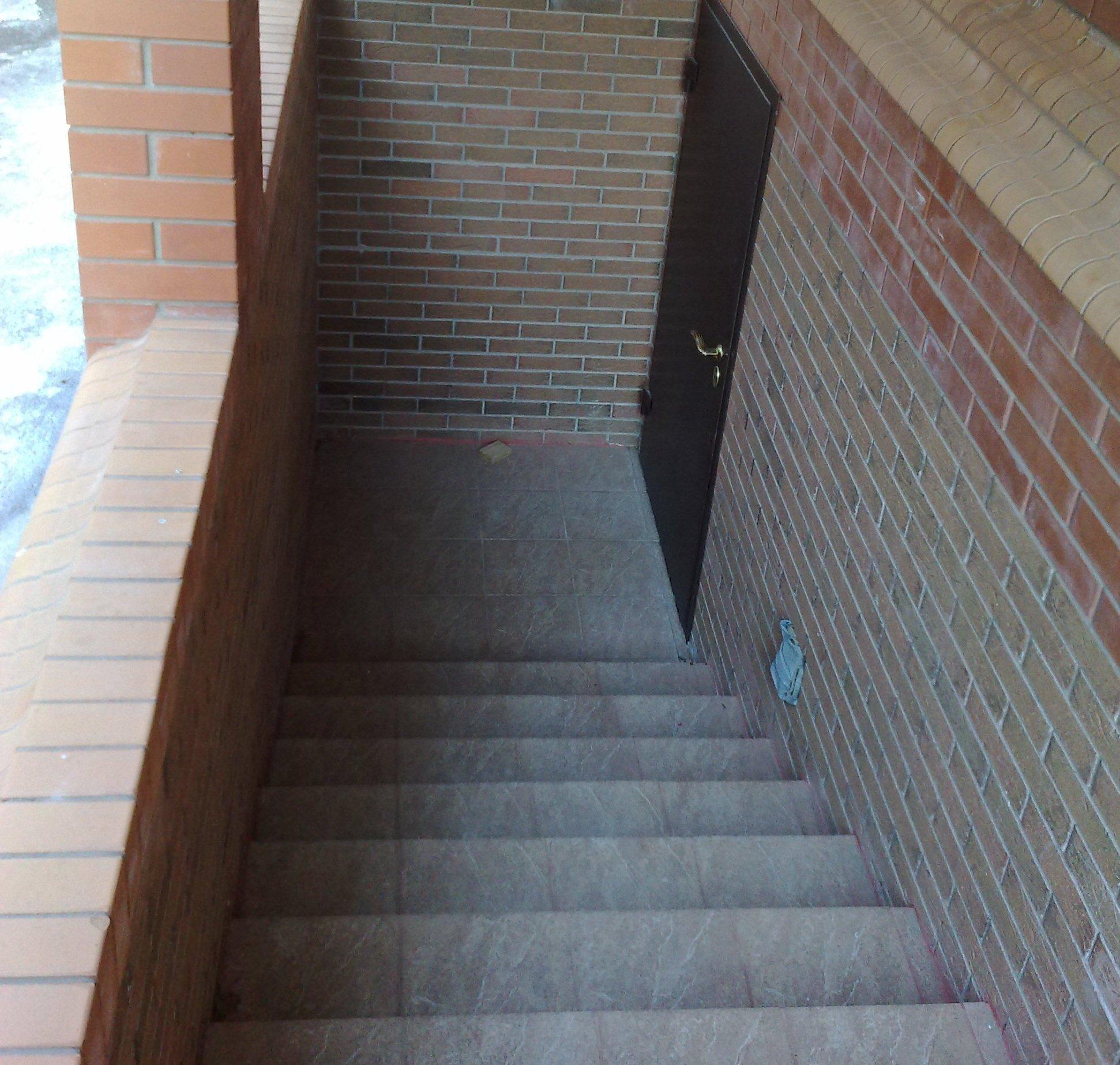 Бетонная лестница в подвал своими руками с улицы