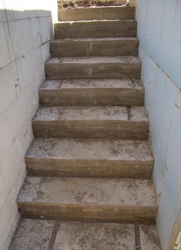 Бетонная лестницы в подвал своими руками 62