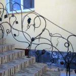 Кованые ограждения для наружной лестницы