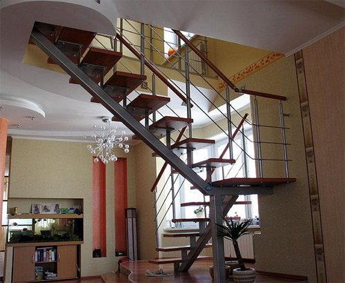 Лестница с косоуром своими руками