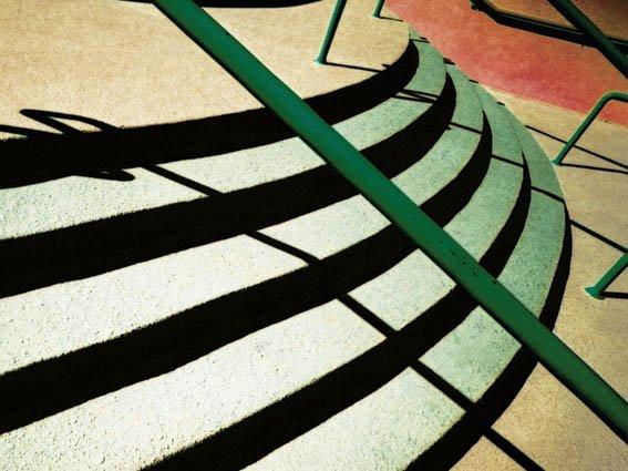 Покраска бетонной лестницы