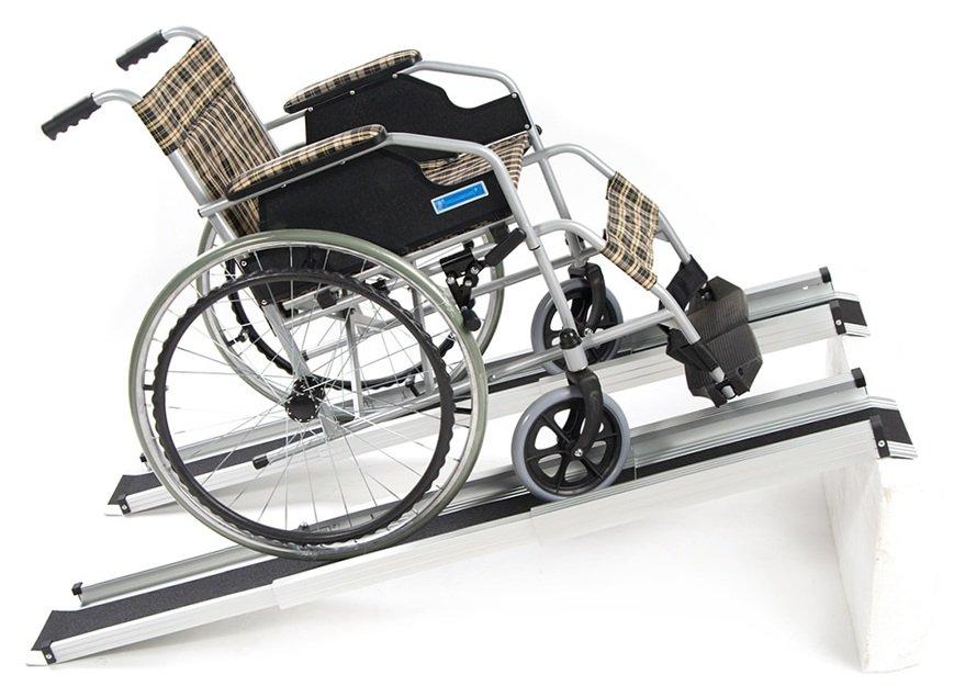 Телескопический пандус для инвалидных колясок