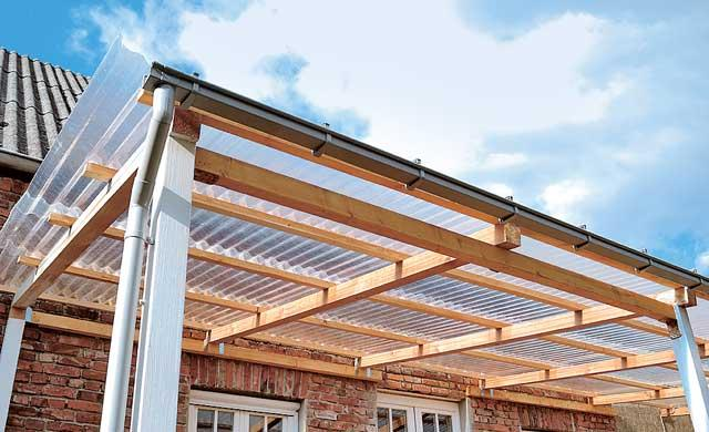 Каркас для крыши из поликарбоната своими руками 46