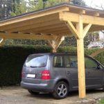 Поликарбонатный навес для автомобилей