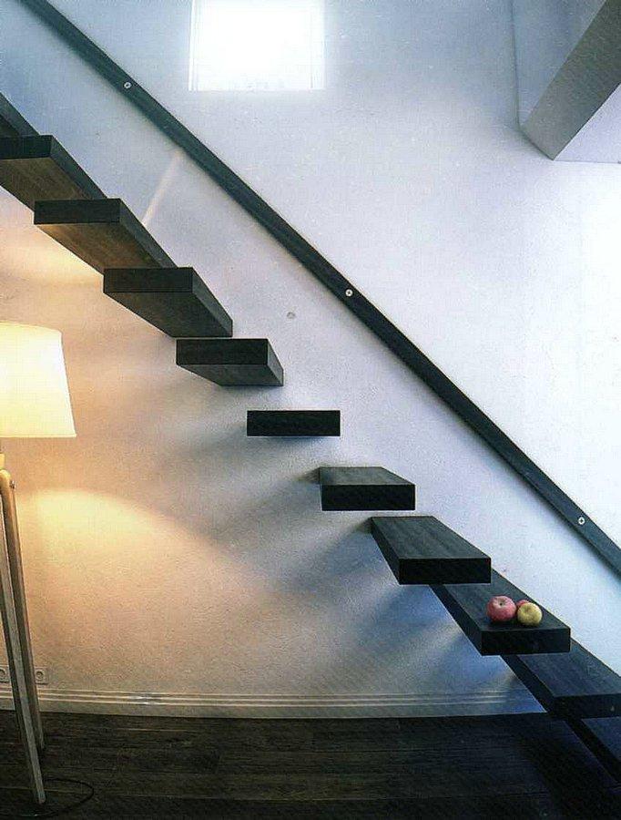 Лестница на больцах без перил