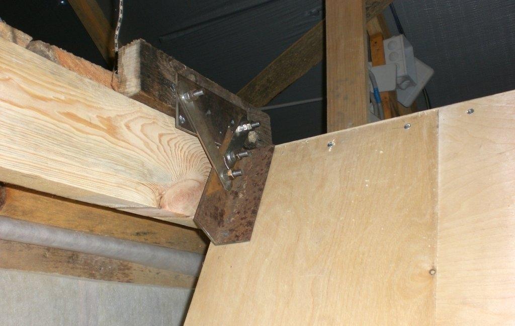 Складная чердачная лестница своими руками часть 1 93