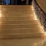Декоративное освещение лестницы фото
