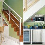 Фото лестницы на кухне