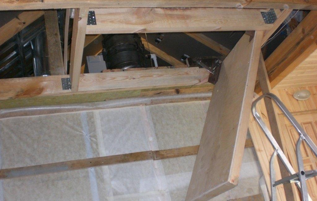 Лестница чердачная своими руками фото 9
