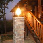 Светильник для лестницы на улице