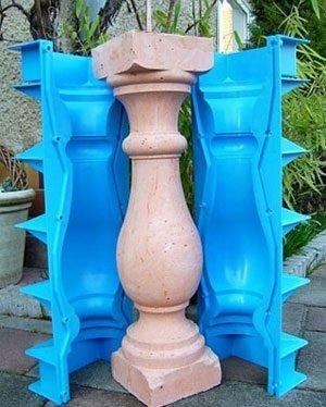 Пластиковые формы для балясин фото