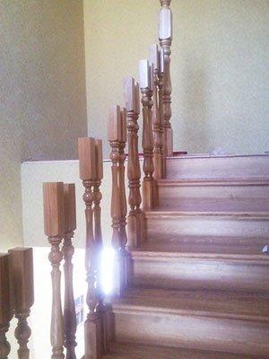 Деревянная балюстрада для лестницы своими руками
