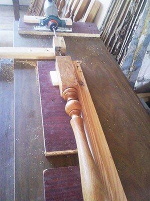 Станок для изготовления деревянных балясин фото