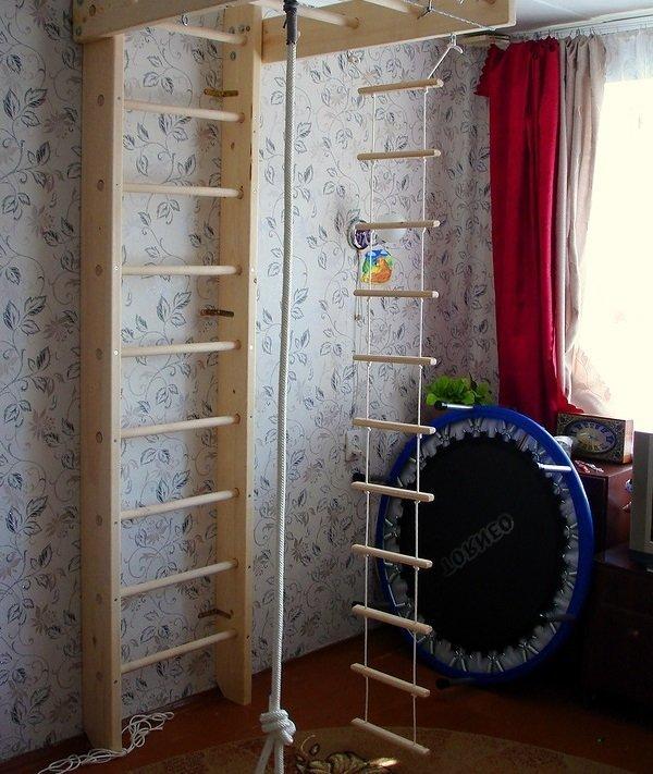 Веревочная лестница для детей фото