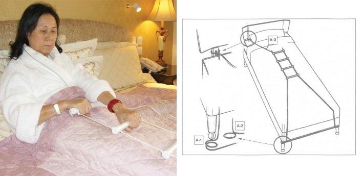 Веревочная лестнциа для инвалидов