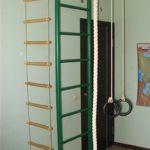 Лестница из веревки для ребенка
