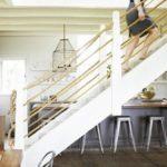 Веревочные перила лестницы фото