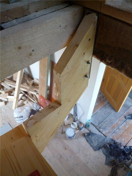 Оптимальный угол наклона лестницы фото